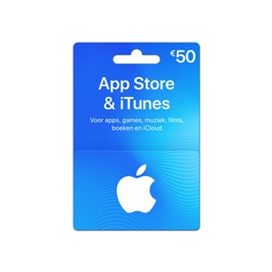 iTunes Gift Card €50,-