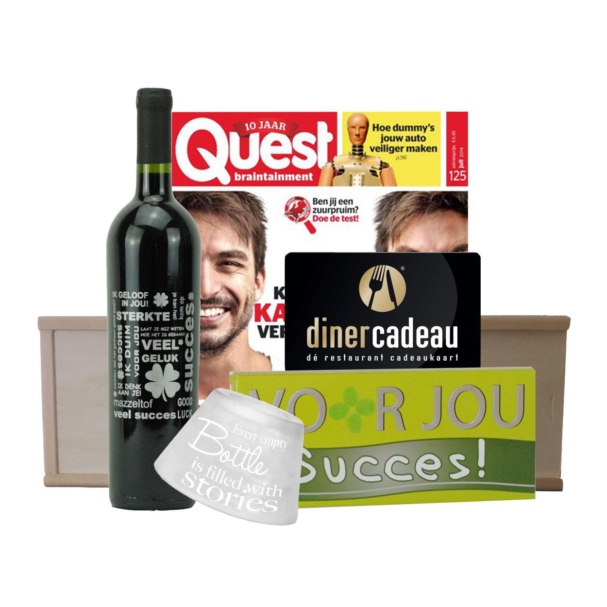 diner cadeaukaart 15 euro quest pakket. Black Bedroom Furniture Sets. Home Design Ideas