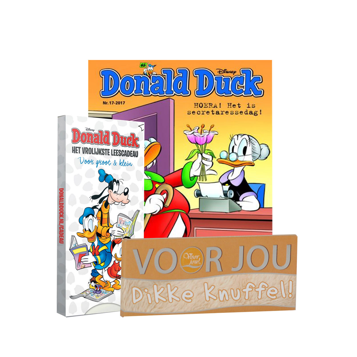 Bladcadeau 15 Euro Donald Duck