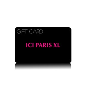 ICI PARIS XL gift card van €5,- tot €150,-