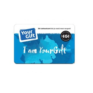 YourGift Card van €10,- tot 150,-