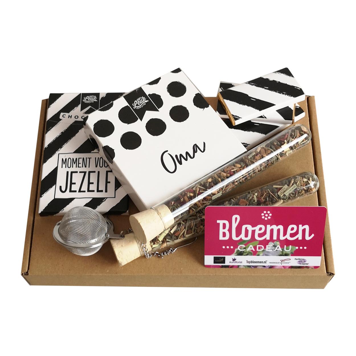 Bloem Cadeau 15 Euro 100leuk Door De Brievenbus Oma