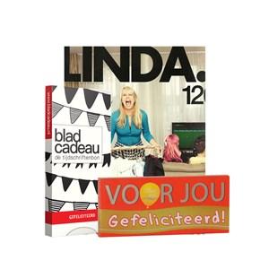Pakketten Cadeaukaart Tijdschrift Voor Jou Chocolade