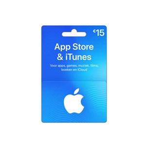 iTunes Gift Card €15,-