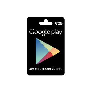Google Play Gift Card €25,-