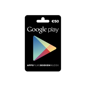 Google Play Gift Card €50,-