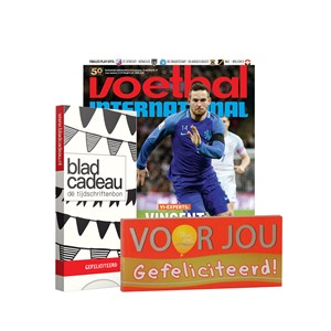 Bladcadeau 15 euro + Voetbal international