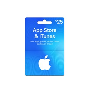 ITunes Gift Card €25,-